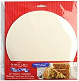 Mason Cash 20 cm Baking Parchment Circle, Set of 100, White