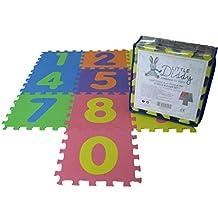 Alfombra de juego para bebés-Bolsa de almacenamiento incluida-Estera de juego de EVA suave
