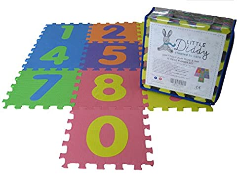 Soft Baby Foam Jigsaw Puzzle Floor Play Mat with Pop-Out