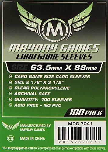 Unbekannt maydaygames–100schützt Karten Format Standard 63,5x 88mm (7041)