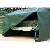 LIVIVO ® Heavy Duty Waterproof 3 Seater Swinging Garden Hammock Cover with Securing Rope