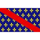 magFlags Drapeau Large Bourbonnais   French province of Bourbonnais 90x150cm