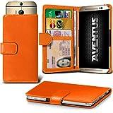 Aventus (Orange) HTC One S9 Premium-PU-Leder Universal