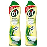 #1: Cif Multi Purpose Cleaner with Cream and Micro Crystals Lemon - 500 ml Pack of 2