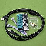 Hermosairis 1set Programmer Tool PIC USB Automatische Programmierung Entwickeln Sie den Mikrocontroller Programmer K150 ICSP USB Programmer mit USB-Kabel