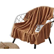 68f2b61d86662 Tz Manta de Punto de algodón Oficina Manta de Siesta Manta de Ocio Alfombra  para Adultos