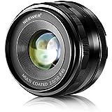 Neewer NW-E-50-2.0 50mm f/2.0 Lentille Fixe Manuelle Focus Prime pour SONY E-Monture Numérique Caméras, tel que SONY NEX3, 3N, 5, 5T, 5R, 6, 7, A5000, A5100, A6000, A6100 et A6300