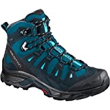 Salomon Women's Quest Prime GTX High Rise Hiking Boots, Black, 6.5 M US