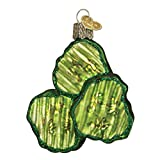Best Pickles In The World - Old World Christmas Pickle Chips Glass Blown Ornament Review