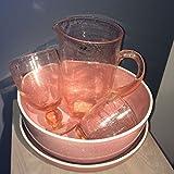 Pomax-Jarra para ratones, color rosa