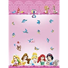 Partido Ênico 1,8 x 1,2 m de plástico Disney Princess y Animales Mantel