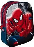 Star Licensing Marvel Spiderman 3D Rucksack Rucksack Kinder, bunt - Best Reviews Guide