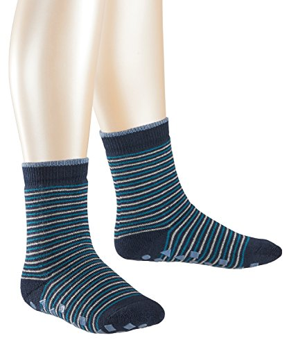 ESPRIT Jungen Socken Colourful Steps Homepads, Mehrfarbig (Marine 6120), 23-26 (Winter Socken Kinder)