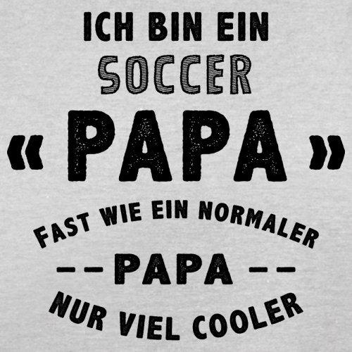 Ich bin ein Soccer Papa - Herren T-Shirt - 13 Farben Hellgrau