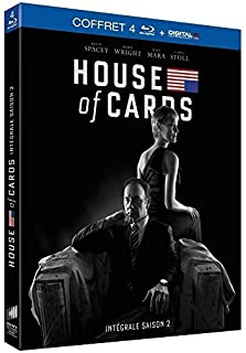 House of cards - Volume 2 : Chapitres 14-26 [Blu Ray + DIGITAL Ultraviolet] [Blu-ray] (B00J7YG6PS) | Amazon price tracker / tracking, Amazon price history charts, Amazon price watches, Amazon price drop alerts