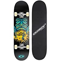 Osprey Savages Double Kick Pro Skateboard Multicolore