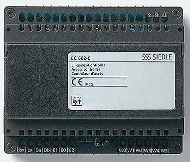SIEDLE 4961623 - INICIALMENTE CONTROLADOR DE INSTALACION EC 602 A 03 EN