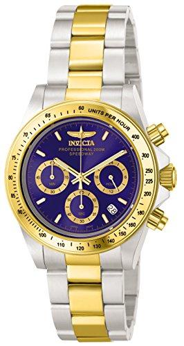 Invicta Herren-Armbanduhr Quarz Chronograph 3644