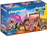 PLAYMOBIL: THE MOVIE Marla, Del y Caballo con Alas 70074