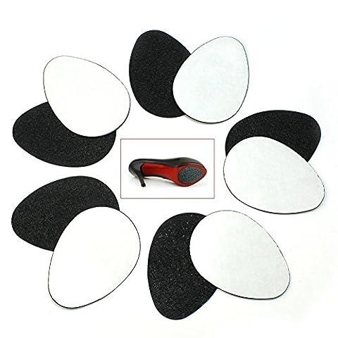TININNA Protecteurs Semelle Autocollant Antiderapant Pour les Chaussures Auto-adhesif en