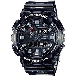 Casio gax100msb-1a negro 51.2mm resina G-shock reloj para hombre