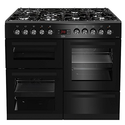 Beko KDVF100K A Rated 100cm Dual...