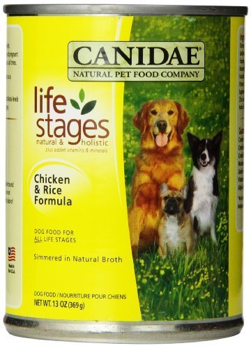 canidae Canned comida para perro, pollo y arroz Fórmula en caldo de...