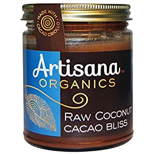 Artisana Cacao Bliss Coconut, 8-Ounce (Pack of 6) by Artisana