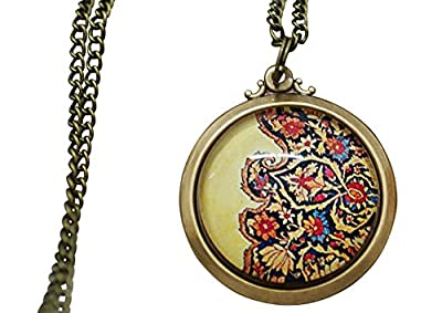 Madam Lili Oriental Rug III Bronze Necklace produced by MadamLili - quick delivery from UK.