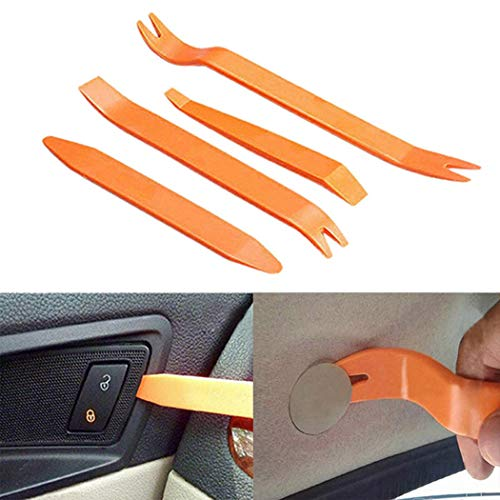 Edited Hohe Qualität 4 STÜCKE Durable Car Audio Demontage Werkzeug Flugzeug Removal Tool Kit, für Demontagen von Auto Audio/Radio, Tür Panel, Fenster, Auto Zubehör