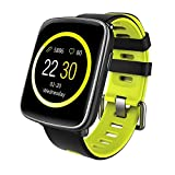 YAMAY Bluetooth Smartwatch Wasserdicht IP68 Smart Watch Intelligente Sport Uhr Fitness Tracker Armband mit Pulsmesser,Schrittzähler Armbanduhr,Schlaftracker,Stoppuhr für Herren Damen Kamera-Fernsteuerung Musik Vibrationsalarm Anruf SMS Whatsapp Beachten für iPhone Android Handy