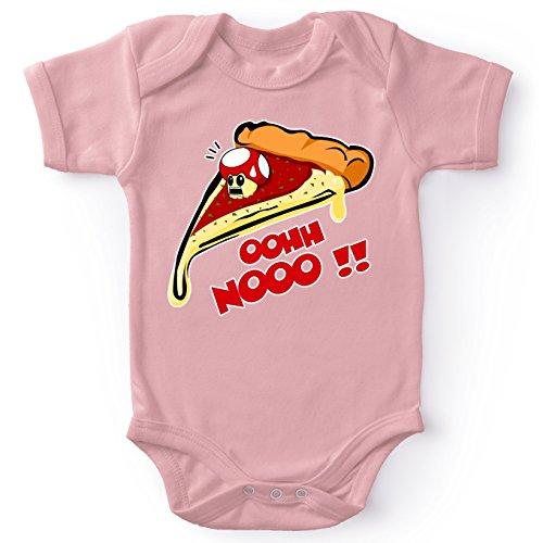 es Pink Baby Strampler (Mädchen) - Toad (Mario Parodie) (Ref:340) ()