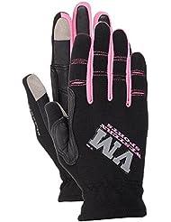VM Western Sports Mujer Guantes de equitación Classic, RH de 68031801, otoño/invierno, mujer, color rosa, tamaño XS