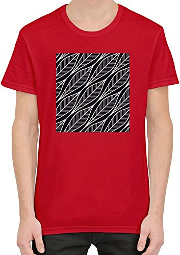Abstract Print Männer T-Shirt XX-Large (Tee Print Abstract)