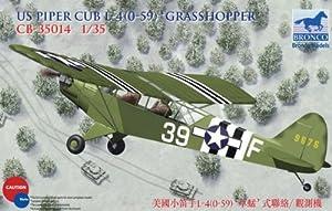 Unbekannt Bronco Models cb35014-Maqueta de Piper Cub L4Grasshopper