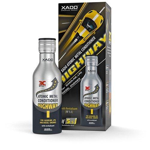 XADO Motor-Öl-Additiv Atomarer Metallconditioner Highway mit Revitalizant® für Motor- Verschleiss-Schutz und Reparatur -