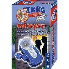 KOSMOS 654504 TKKG Junior - Abhörgerät, Detektivspielzeug, Detektiv Ausrüstung