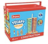 Jeujura - 8336 - Jeu de Construction - Tecap Color - 100 Pièces