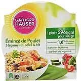 GAYELORD HAUSER MINCEUR Plats Cuisinés au Poulet, Blé et Légumes du Soleil Diet 350 g - Lot de 3
