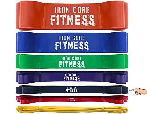- fascia elastica, per esercizi di sollevamento, resistenza e potenza, per allenamenti, crossfit, ginnastica, terapia, stretching, yoga, flessibilità e trazioni, black (13kg-23kg), l