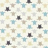 Fabulous Fabrics Jersey Schildkröte Hermann 1 – blau —