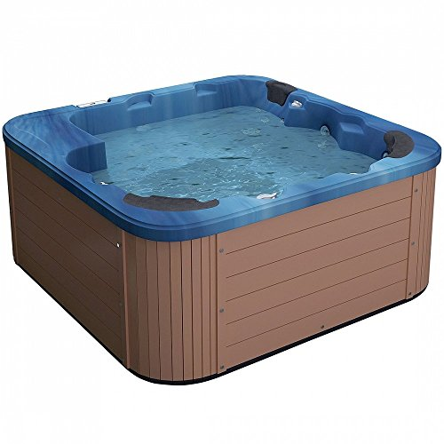 Dimensiones jacuzzi 2 personas awesome baera eura canto for Jacuzzi exterior medidas
