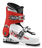Roces Idea Scarponi da Sci, Unisex bambini, White/Red/Black, MP 19.0-22.0