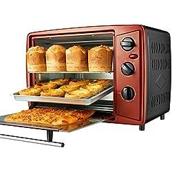 Mini Four électrique 32 L - Posable, Compact et Portable 1500 W - Température Maximale 230°C, Minuterie 100 Min, Contrôles pour Griller, Cuire et Rôtir