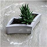 Paradox Batman Grey/White Cement Planter/Vase / Flower Pot/Home Decor