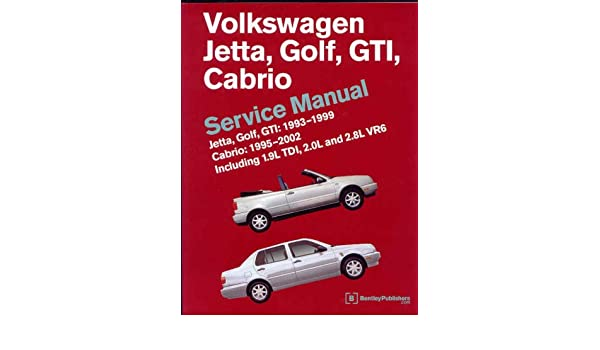 amazon fr volkswagen jetta golf gti cabrio service manual rh amazon fr VW AHU Engine Ahu TDI Turbo