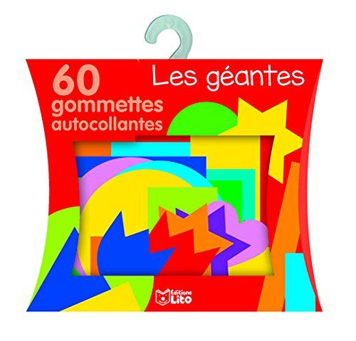 Boite Gommettes Maternelles -Les géantes - de 3 à 5 ans