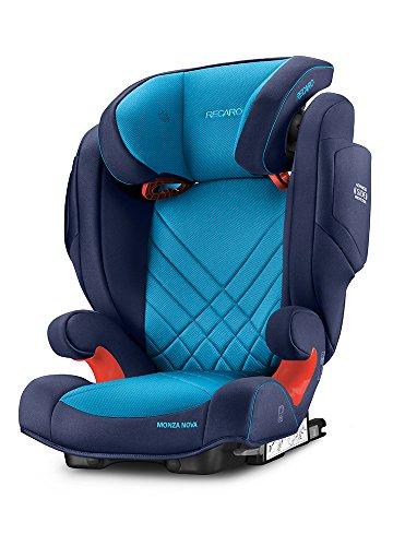 RECARO Monza Nova 2 Seatfix - Silla de coche, grupo 2/3, color xenon blue