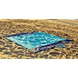 218 x 210cm Lightweight Nylon Blanket Outdoor Family Picnic Camping Beach Play Mat Rug Blanket by theBlueStone