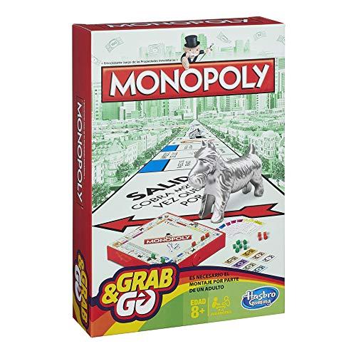 Monopoly Viaje Versión Española Hasbro Spain B1002105